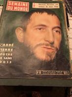 Semaine Du Monde Du 12 Au 18 Février 1954 - General Issues