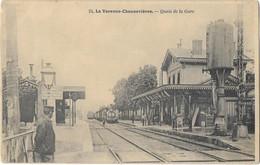 La VARENNE CHENNEVIERES: Quais De La Gare - 24 Pouydebat - Other Municipalities