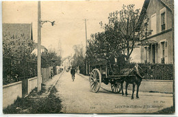 -  94 -VAL-de-MARNE  -   SAINT-MAUR-  L'Ile Machefer-  Attelage - Saint Maur Des Fosses
