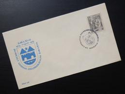 Yugoslavia 1965 Bosnia Cover Special Cancel 20-GODISNJICA OSLOBODJENJA SARAJEVA WWII Liberation Coat Of Arm R205 - Brieven En Documenten