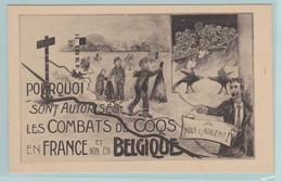 Hanegevecht , Combats De Coqs En France, Souvenir De La Manifestation Du 16.12 A Moustier - Sin Clasificación