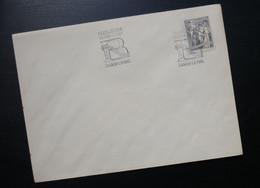Yugoslavia 1961 Croatia Cover Special Cancel FILATELISTICKA IZLOZBA U CAST BEOGRADSKE KONFERENCIJE ZAGREB R217 - Brieven En Documenten