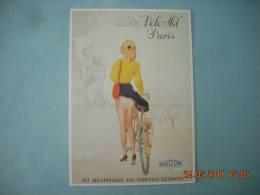 CLOUET   10948 CULOTTE VELOSKI   PARIS      MADOR   WILQUIN  SPOTIVES ELEGANTES - Cycling