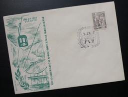 Yugoslavia 1960 Bosnia&Herzegovina Cover Special Cancel 15 GODISNJICA OSLOBODJENJA SARAJEVA WWII R224 - Brieven En Documenten