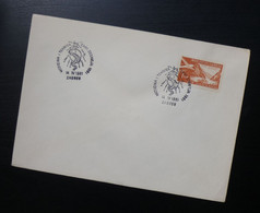Yugoslavia 1961 Croatia Cover Special Cancel MEDICINA I TEHNIKA DANI ZDRAVLJA ZAGREB Medicine Health R229 - Brieven En Documenten