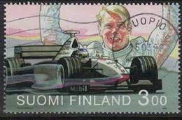 1999 Finland, Mika Häkkinen F1 Winner 1998,  Used. - Usados
