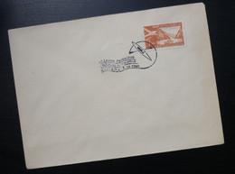 Yugoslavia 1960 Slovenia Cover Special Cancel DRZAVNO PRVENSTVO U KAJAKU NA MIRNIH VODAH MARIBOR Kayak Sport R230 - Brieven En Documenten