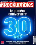 Les InRockuptibles N°1054 : 30 Ans De Collectif (2016) - Non Classificati