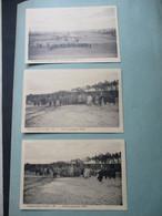 Lot Van 3 Stuks Oude Postkaarten GEFANGENENLAGER  PARCHIM  DUITSLAND - Casernas