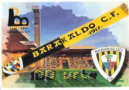 ESTADIO BARAKALDO - Oficial - PAS VASCO- STADIUM - STADE - STADION - CAMPO - Calcio