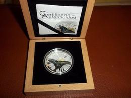 Equatorial Guinea 2015 Butterflies 3D Mariposas Exoticas 25 G Argent 925/1000 - Equatorial Guinea