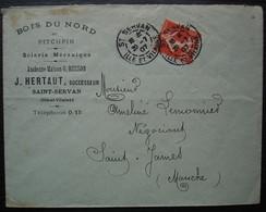 Saint Servan 1907 Ille Et Villaine J. Hertaut Ancienne Maison G. Busson Scierie Mécanique Bois Du Nord Et Pitchpin - 1877-1920: Semi Modern Period