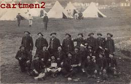 CARTE PHOTO : LE 13e REGIMENT DE CHASSEURS ALPINS DANS L'AIN CHAMBARAN GUERRE MILITAIRE CHASSEUR ALPIN SOLDATS MILITARIA - Regiments