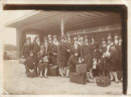 ZUYDCOOTE SANATORIUM MARITIME LA HALTE  GARE 1929 PHOTO ORIGINALE  12 X 9 CM RARE - Plaatsen