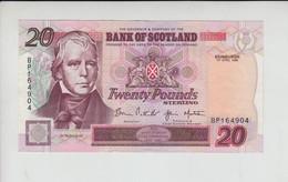 AB119. Bank Of Scotland £20 Banknote 1st April 1998. #BP164904 Half Price! - 20 Pounds
