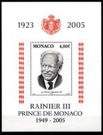 Col18  2005 Monaco N° 2514 BF 91 Neuf XX MNH  Cote 13,50€ - Nuovi