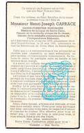 DP Garde Forestier - Henri Joseph Caprace ° Halconreux Bovigny Gouvy 1878 † Grand-Halleux Vielsalm 1941 - Andachtsbilder
