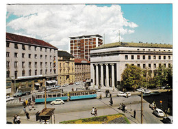 Zagreb, Tramway, Burza Iblerov Neboder Postcard Unused B210120 - Croacia