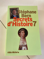 Secrets D Histoire 7 De Stephane Bern - History