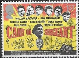 GREAT BRITAIN 2008 Posters For Carry On And Hammer Horror Films - (1st) Carry On Sergeant FU - Gebraucht