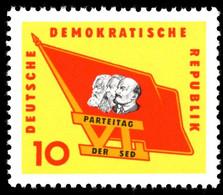 ALLEMAGNE ORIENTALE -  Emblème Du Parti - Unused Stamps
