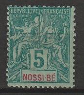 NOSSI BE - N°30 * (1894) - Unused Stamps