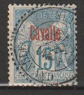 CAVALLE - N°5 Obl (1893) - Oblitérés