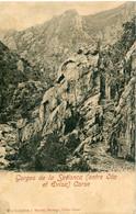 2A-CORSE  - GORGES DE LA SPELUNCA   (Entre OTA Et EVISA).  Collection. J.Moretti,Corte - Otros Municipios