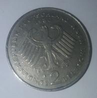 GERMANY 2 Deutsche Mark Konrad Adenauer 1969 - 2 Mark