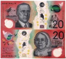 AUSTRALIA, 20 DOLLARS, 2019, Pick New, POLYMER, UNC - 2005-... (billetes De Polímero)
