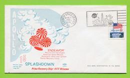 USA, 1971,  Space, Espace, Apollo 15 Splashdown - United States
