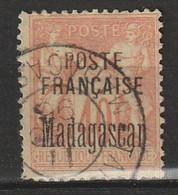 MADAGASCAR - N°18 Obl (1895) - Gebraucht