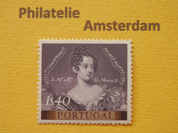 Portugal 1953, QUEEN MARIA / 100 YEARS PORTUGESE STAMPS: Mi 817, ** - Unused Stamps