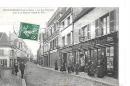 MONTRICHARD    LA RUE NATIONALE  BOUTIQUE TOUR COIFFEUR JOLLIET  CHARCUTERIE    / CHARCUTERIE /          DEPT 41 - Montrichard