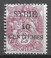 1924 : Timbres De 1900 - 21 Surchargés. N°105 Chez YT. (Voir Commentaires) - Nuovi