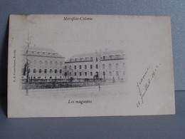 Merxplas-colonie  Les Magasins Afstempeling Jaar 1902 - Merksplas
