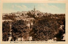 Bécherel * Vue Générale De La Commune Prise De La Ferme Du Haut Breuil - Bécherel
