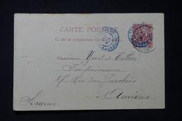 MADAGASCAR - Entier Postal  Type Groupe De Tananarive Pour Yvert Et Tellier à Amiens En 1903 - L 85759 - Storia Postale
