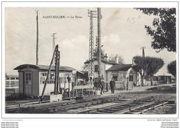CPA 52 Saint Eulien La Halte La Gare - Sonstige Gemeinden