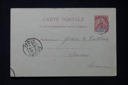 MADAGASCAR - Entier Postal  Type Groupe De Hell Ville Pour Yvert Et Tellier à Amiens En 1904 - L 85760 - Storia Postale
