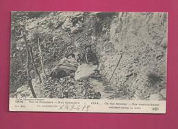 1914...Sur La Frontière-Nos Douaniers - En Embuscade - Dogana