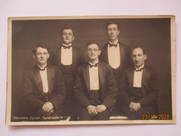 Wales, Aberdare Cynon Serenaders Musik Singer, Fotokarte (36386) - Singers & Musicians
