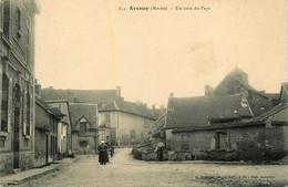 Avenay * Une Rue Du Village - Sonstige Gemeinden