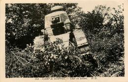 Suippes * Le Camp Militaire * Un Char En Action * Tank Militaria - Sonstige Gemeinden