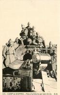 Suippes * Le Camp Militaire * Pièce D'artillerie Sur Voie Ferrée * Militaires Militaria - Sonstige Gemeinden
