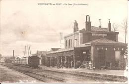 NEUFCHATEL-EN-BRAY (76) La Gare (Vue Intérieure) En 1918 - Neufchâtel En Bray