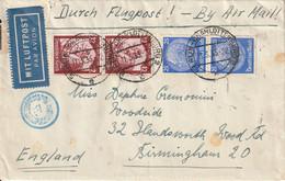 Allemagne Lettre Par Avion Berlin - Charlottenburg Pour L'Angleterre 1935 - Covers & Documents