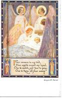 Illustrator - M.W. Tarrant - Angels, Angel, Ange, Engel, Angelo, Child, Religious Card, Religion / With Rhyme - Altre Illustrazioni