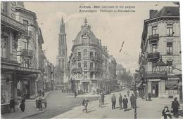 Antwerpen Anvers Nationale En Kammestraat 1915 Feldpost Mooie Stempels - Antwerpen