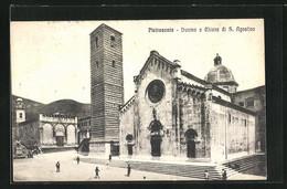 Cartolina Pietrasanta, Duomo E Chiesa Di S. Agostino - Andere Steden